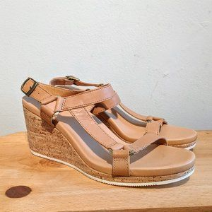 NWOT Teva Arrabelle Universal Leather Sandal 8.5